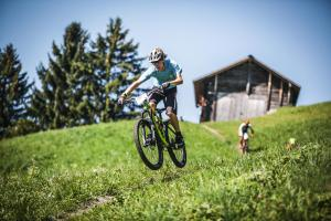 Eiger Bike Challenge Regenmatte Imboden Bike