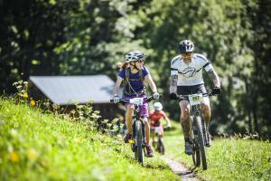 Eiger Bike Challenge Jung und alt