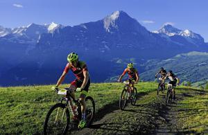 Eiger Bike Challenge - Feld - Panorama